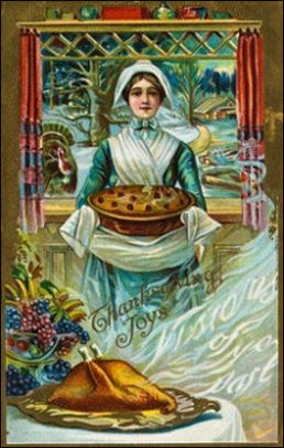 Victorian Thanksgiving Cards and Images